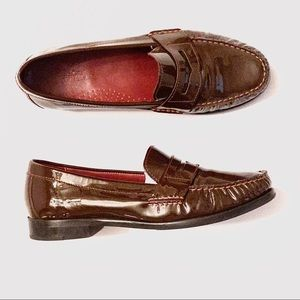 Immaculate🖤Cole Haan Patent Leather Penny Loafers